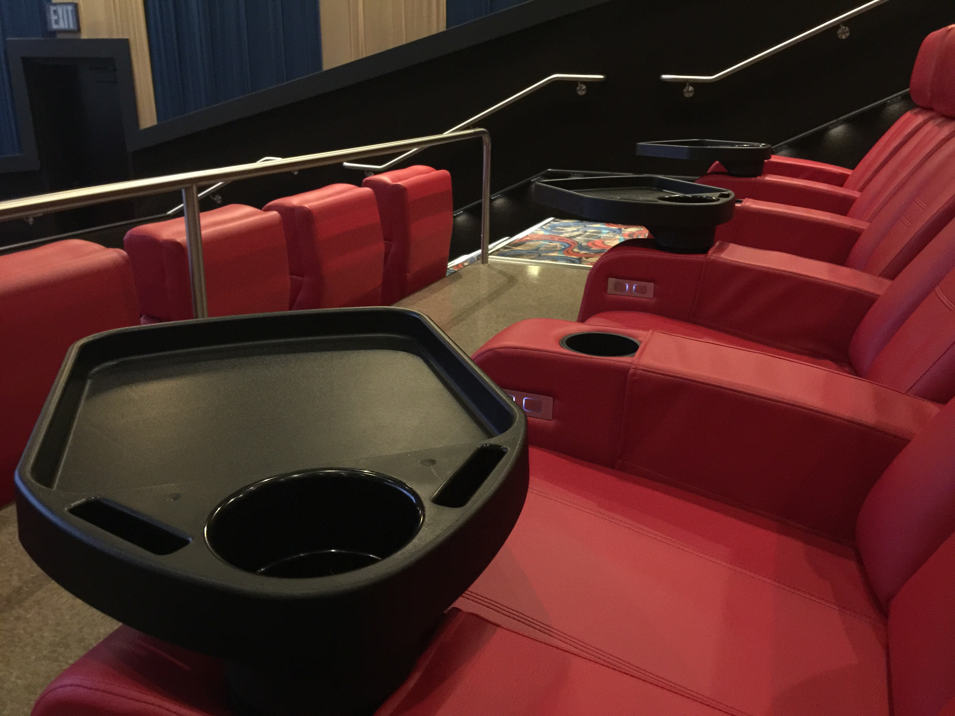 theater chairs with cup holders high chair banner a non fan wouldn 39t see the humor in this howardstern
