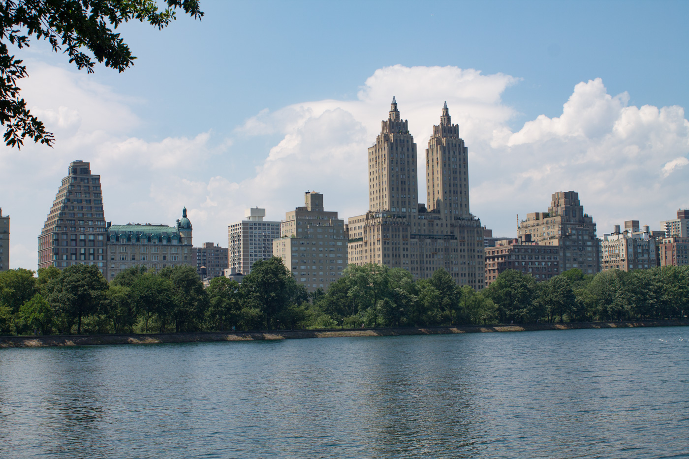 The Eldorado as Seen from Central Park