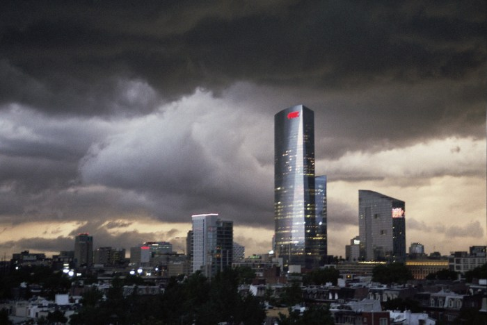 FMC Tower and Clouds