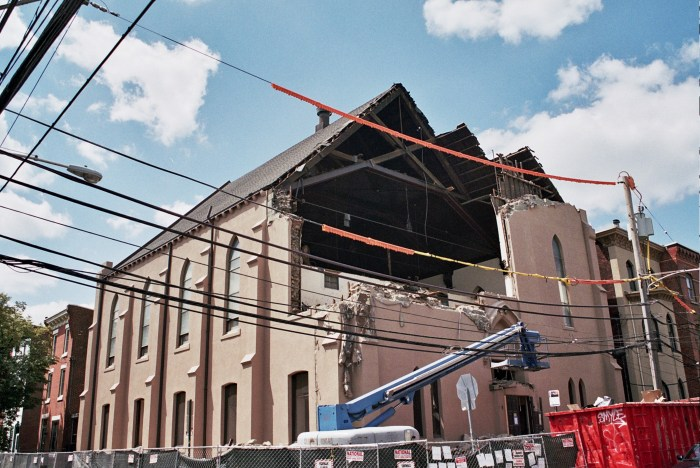 Church Demolition