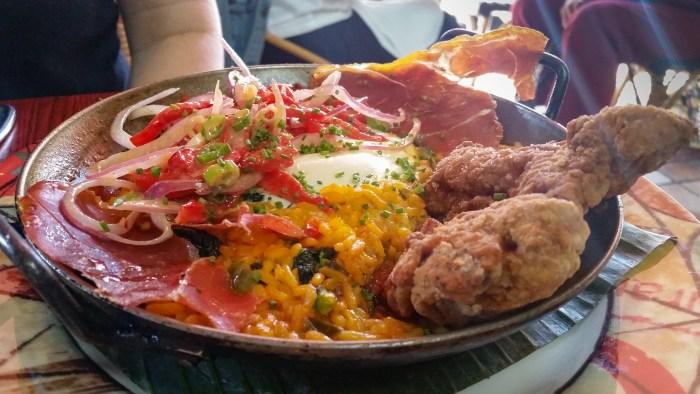Brunch Paella at Cuba Libre