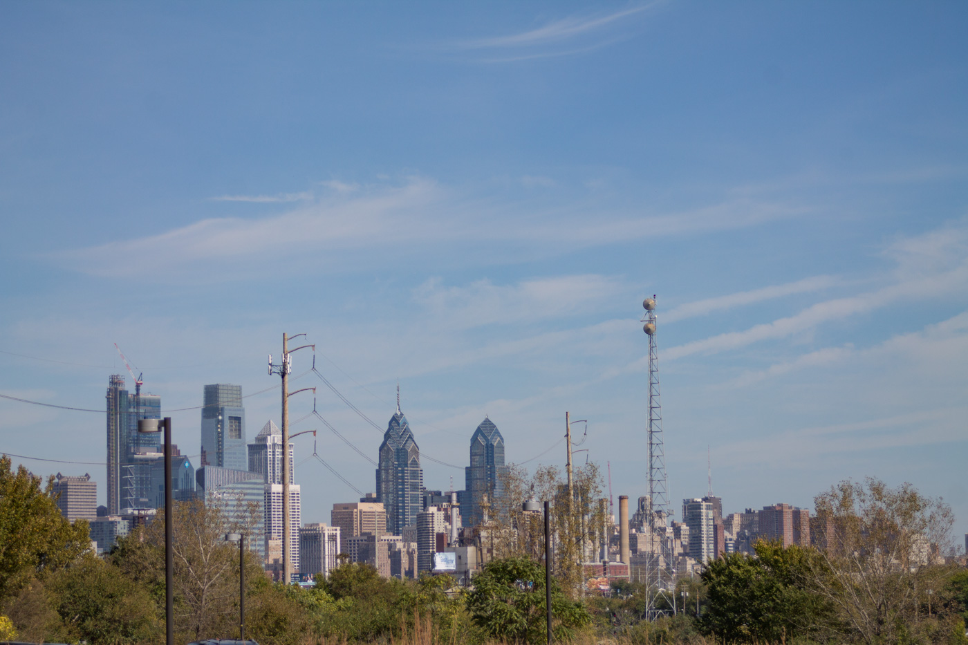 Philadelphia as Seen from Bartram's Garden
