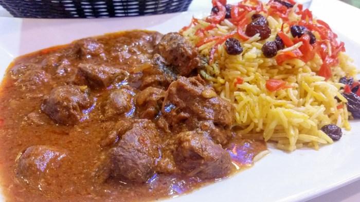 Qabili Palao at Afghan Grill