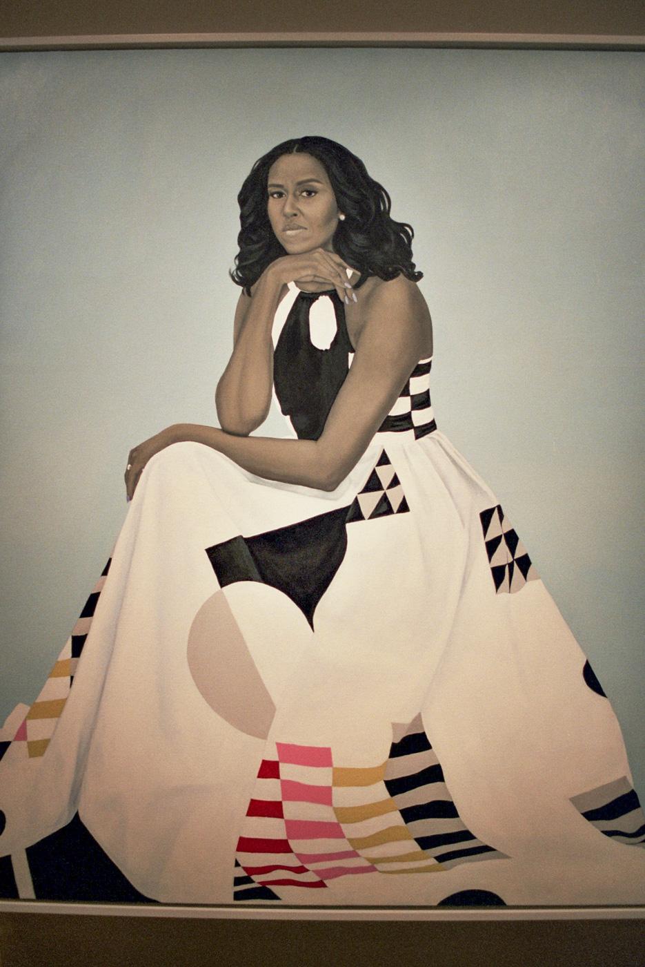 Michelle Obama's Portrait by Amy Sherald