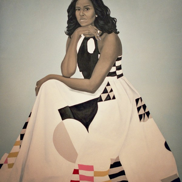 Michelle Obama's Portrait by Amy Sherald