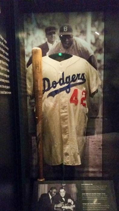 Jackie Robinson's Uniform