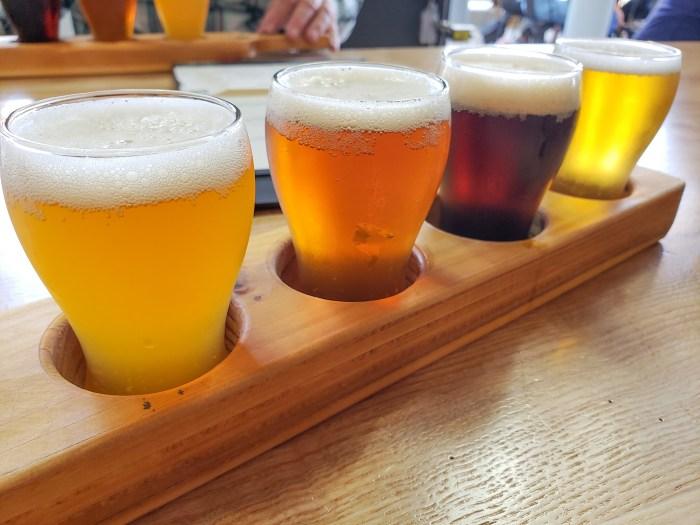 IPA Sampler at Yards Brewing Company