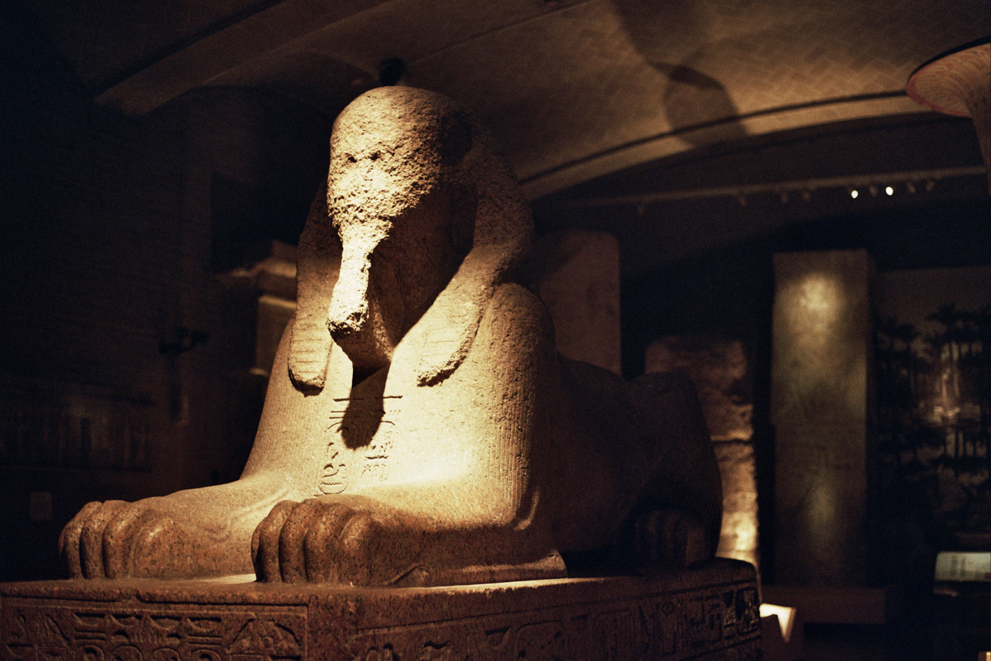 Sphinx at Penn Museum