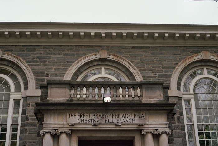 The Free Library of Philadelphia Chestnut Hill Branch