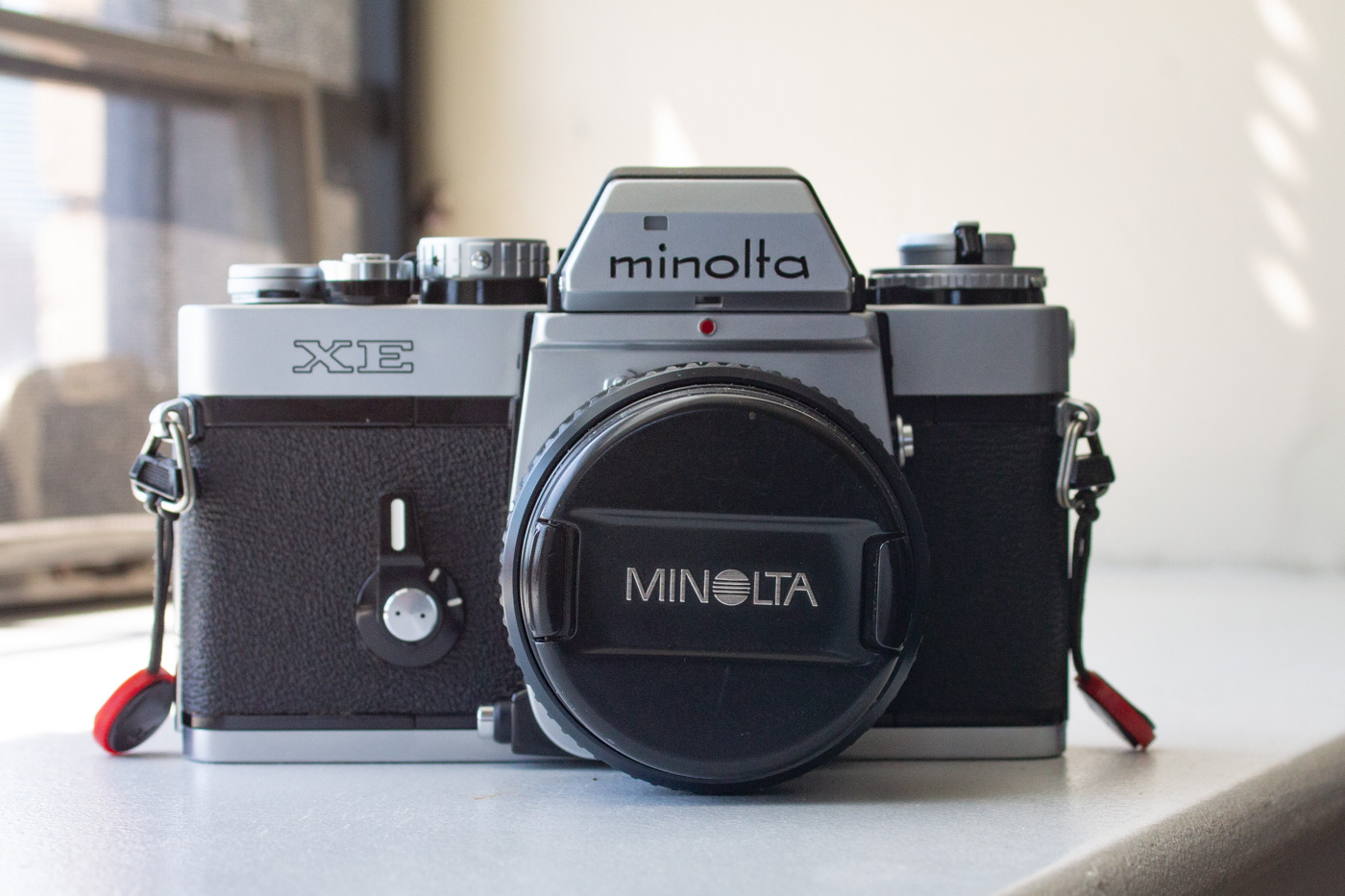 Test Roll for the Minolta XE