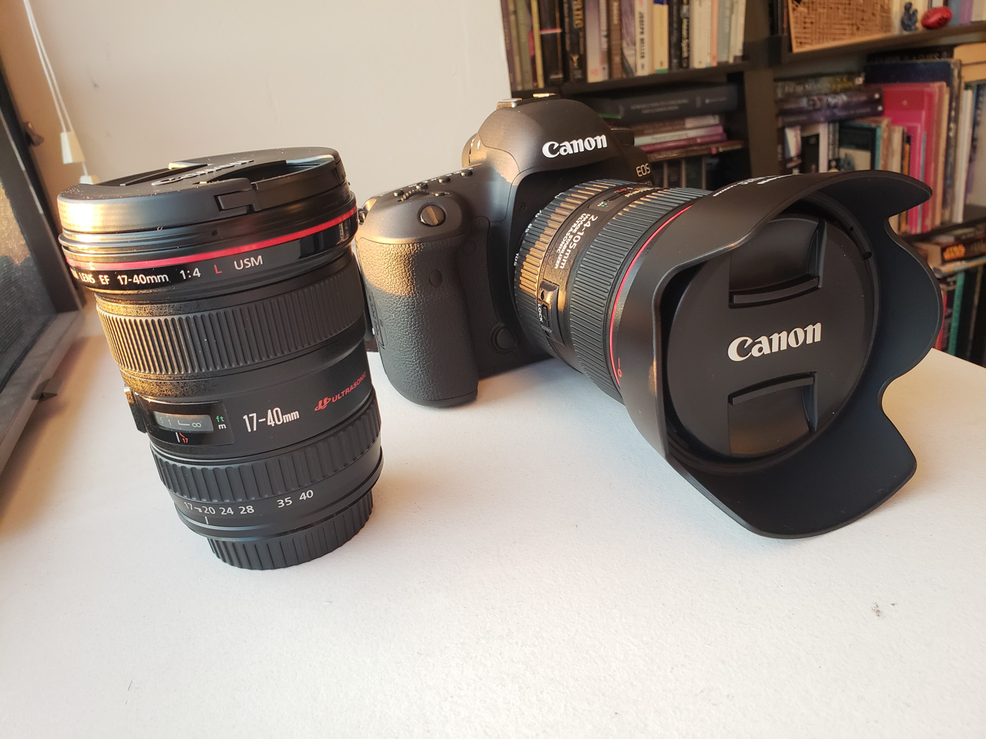 New Camera, New Lenses