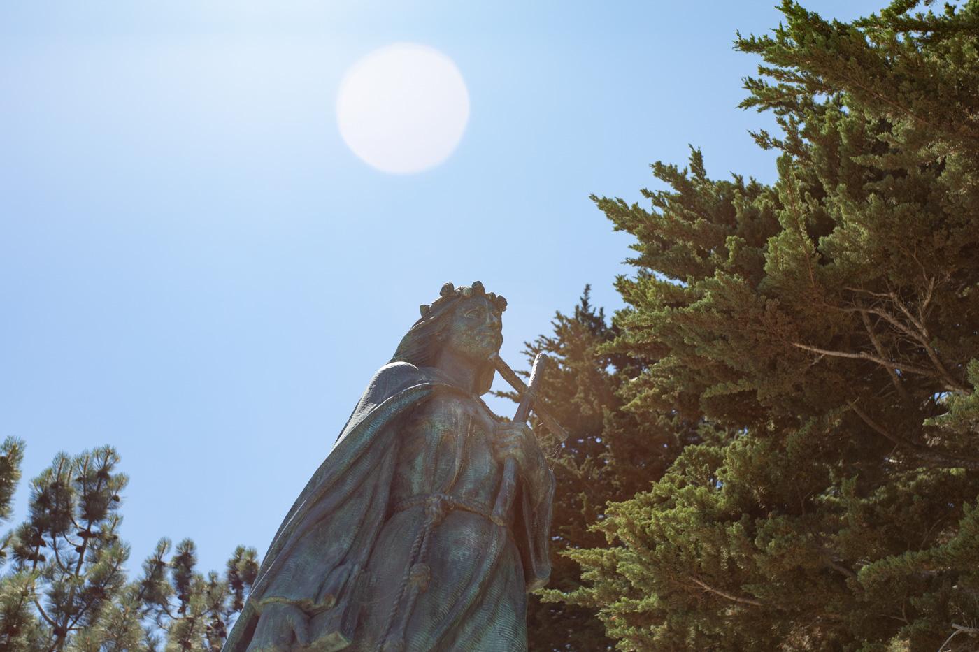 Santa Rosalia Statue