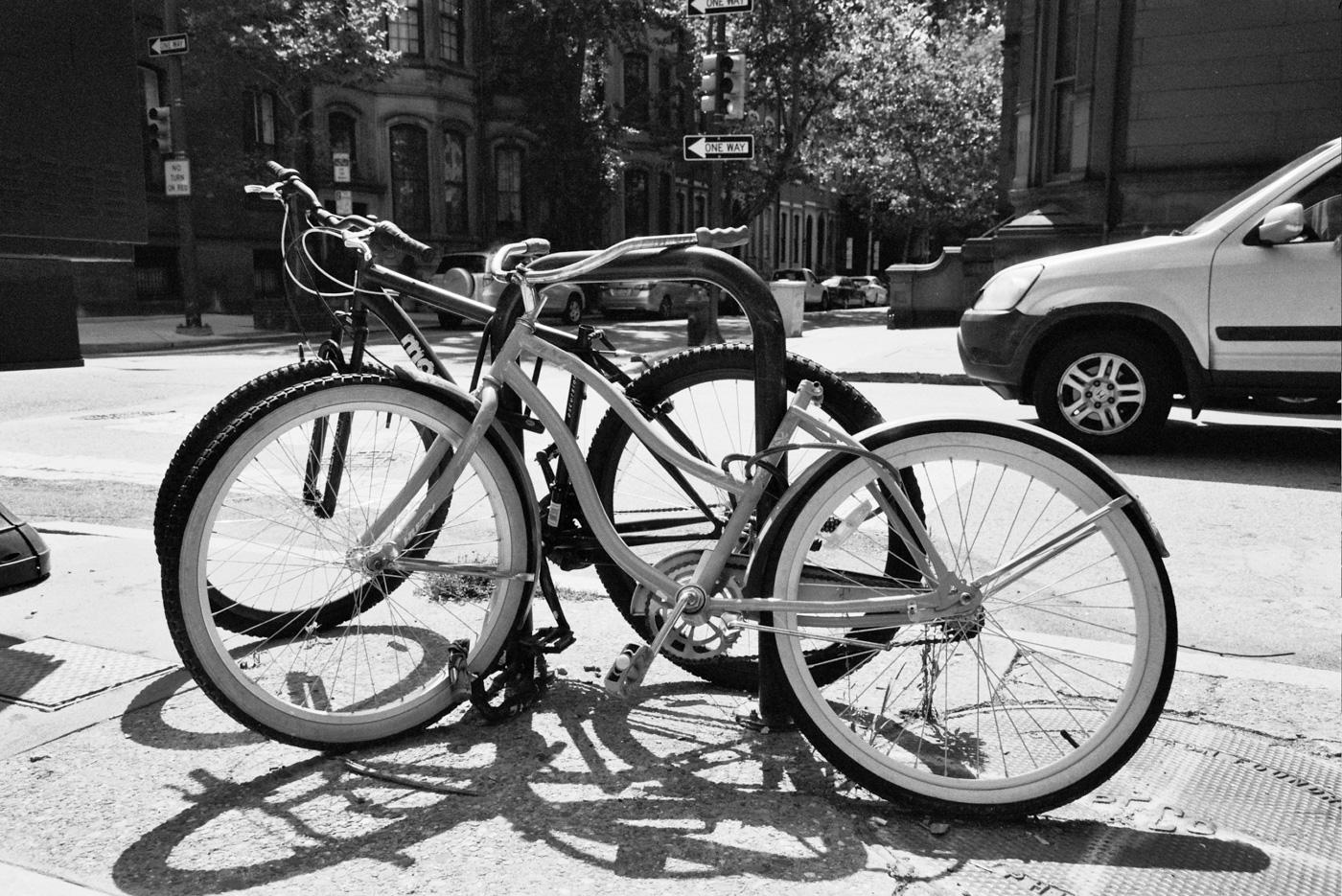 Two Bikes but No Seats