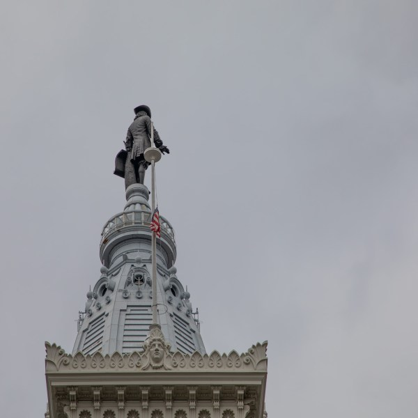 William Penn on Top of City Hall