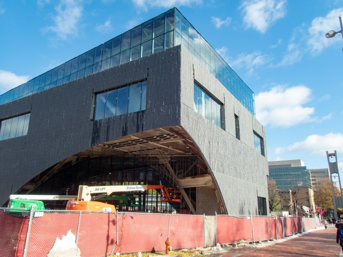 Charles Library Under Construction at Temple University