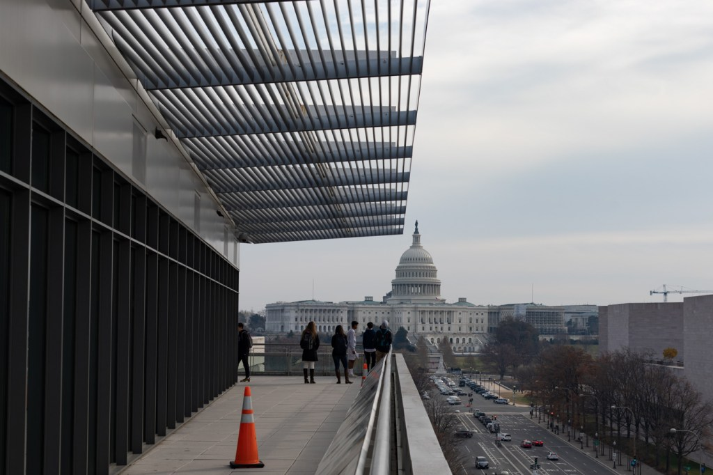 View from the Newseum Terrace