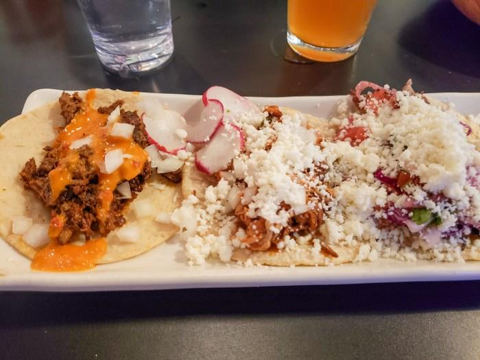 Tacos at El Borracho