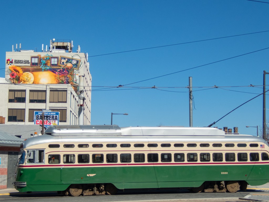 Mural and Trolly