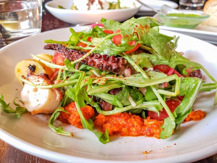 Octopus at Basil Seasonal Dining