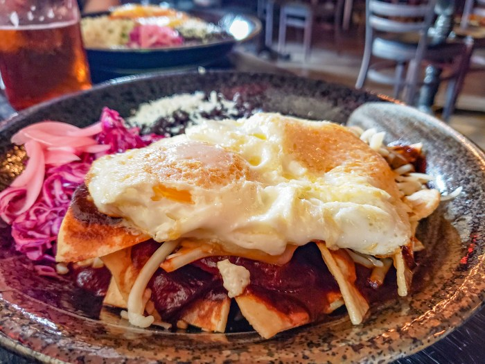 Chilaquiles at Cultura