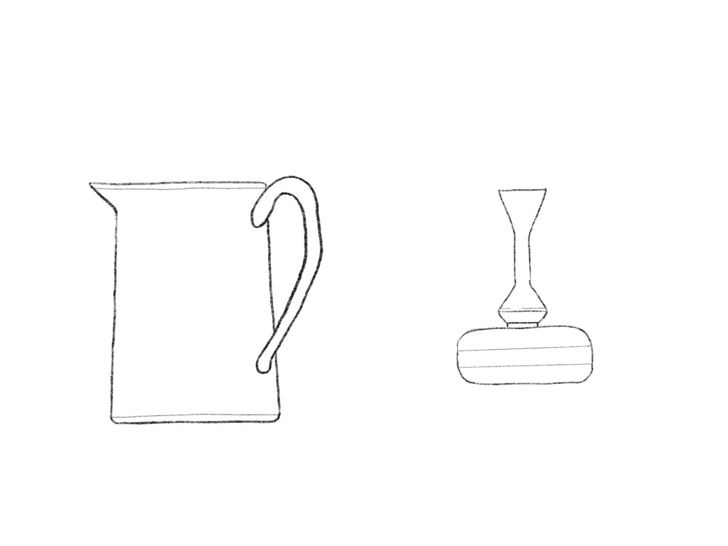 Pitcher And Vase