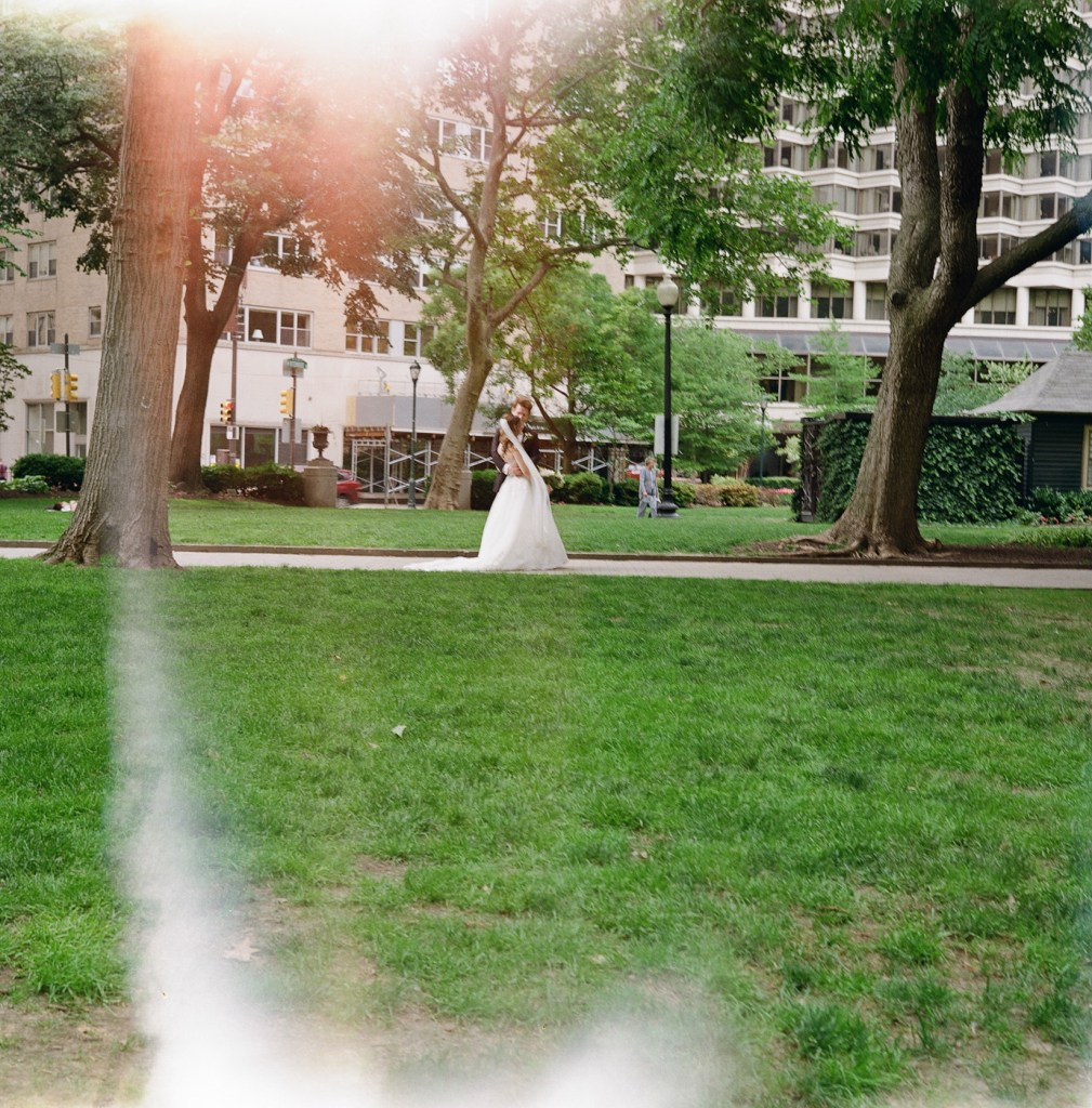 Wedding in Rittenhouse Square