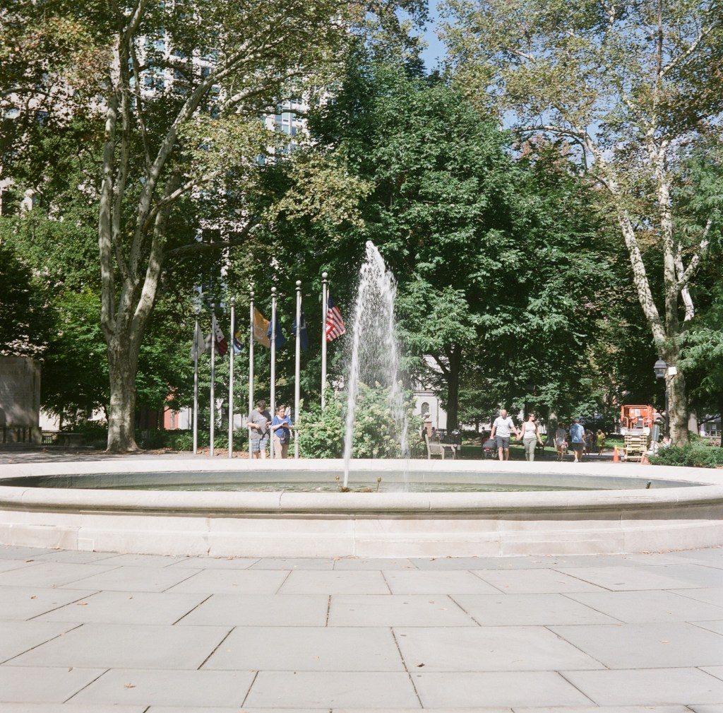 Washington Square Fountain