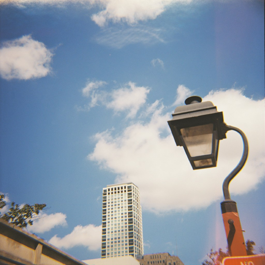 Lamppost and Building