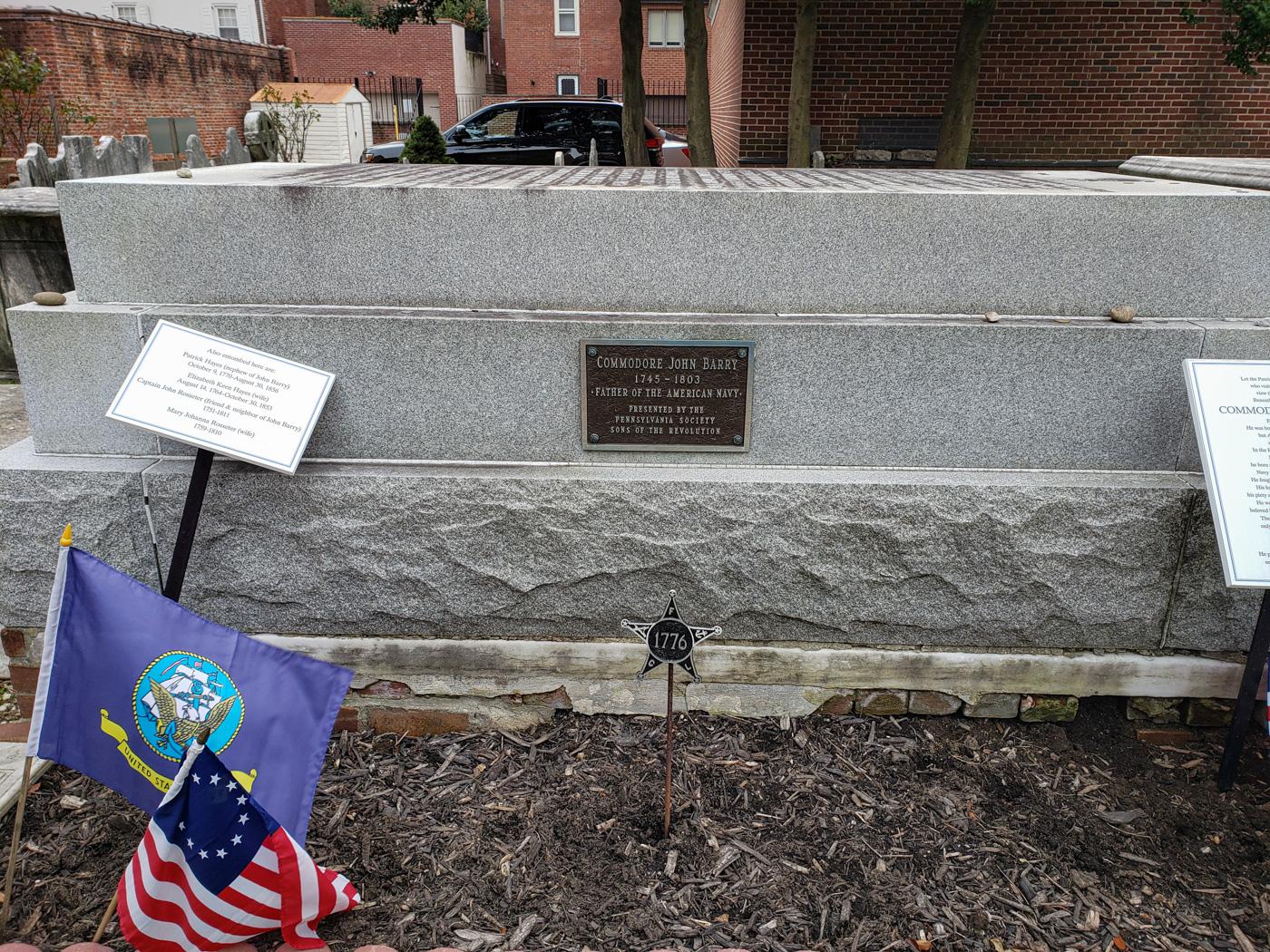 John Barry's Grave