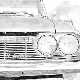 Pontiac Drawing