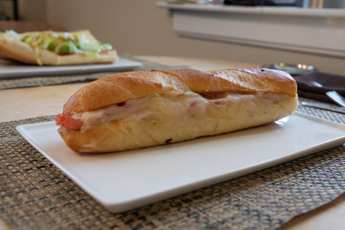 Ham, Swiss, and Tomato from Cafe Lutecia