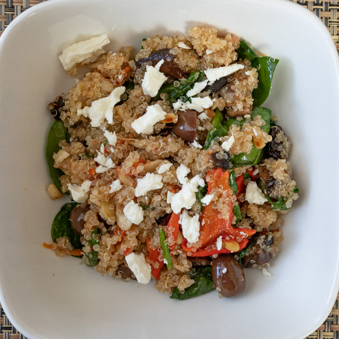 Olive and Sun-Dried Tomato Quinoa