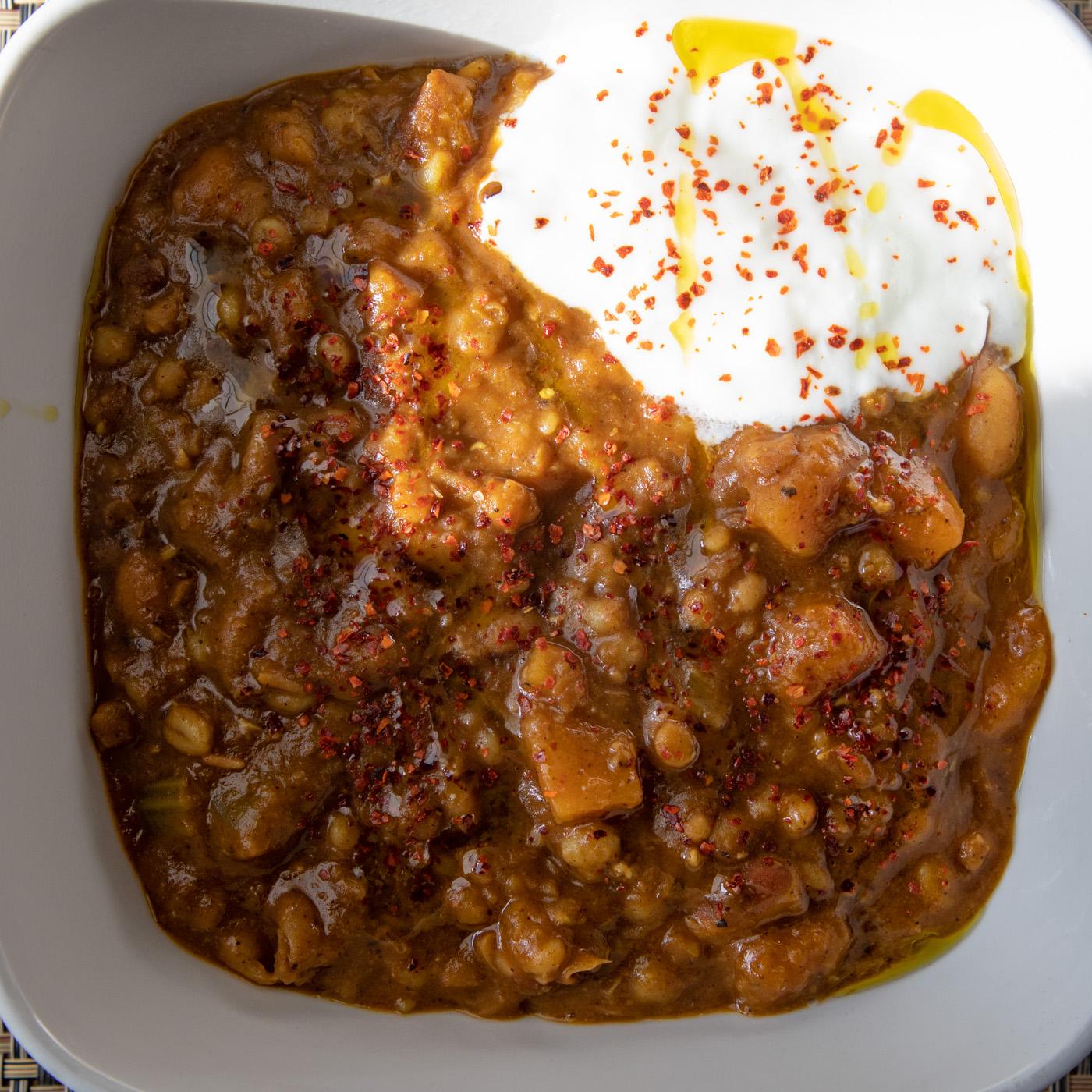 North African Bean Stew