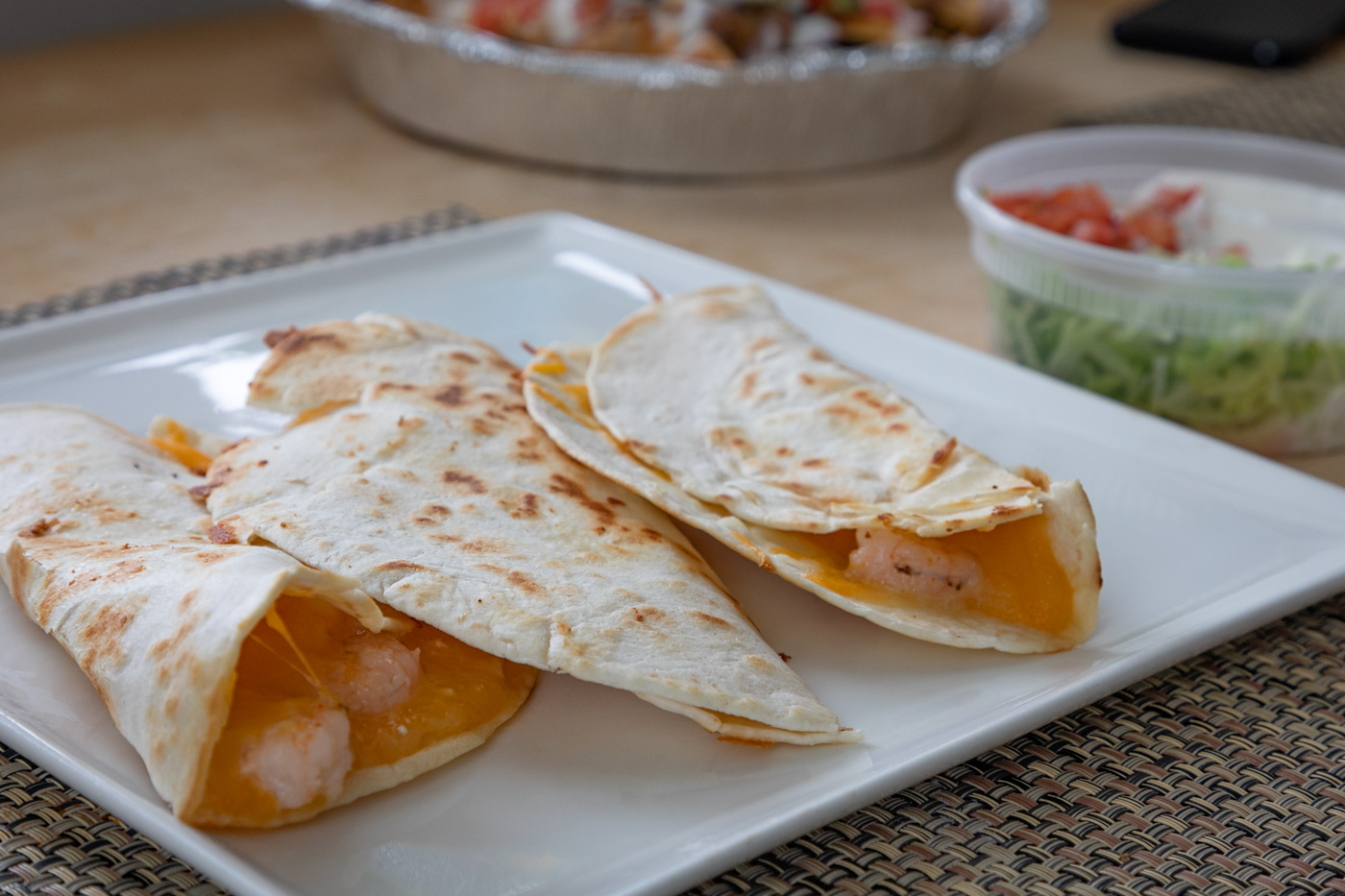 Quesadillas from Loco Pez