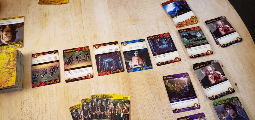 Lord of the Rings Deck-Building Game