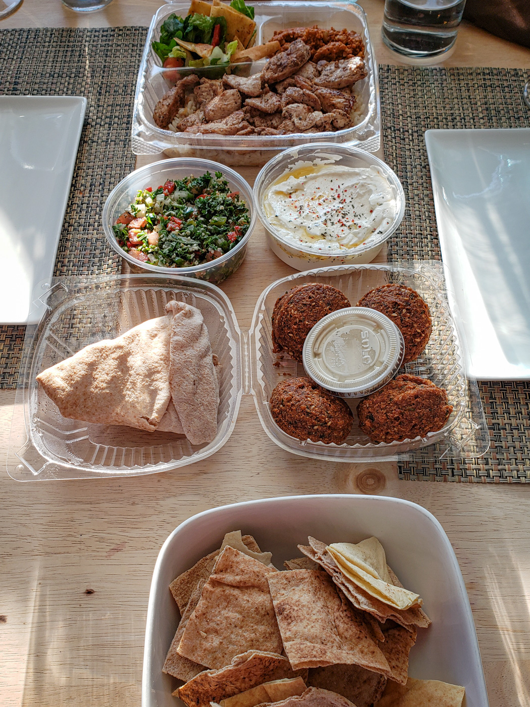 Take Out Dinner from Apricot Stone