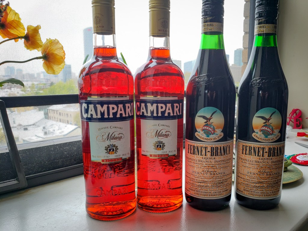 Campari and Fernet-Branca Delivery from The State Store