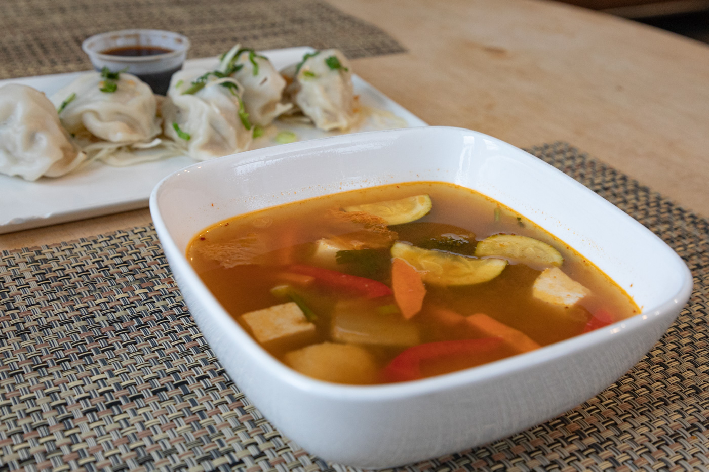 Tom Yum Soup from Sawatdee