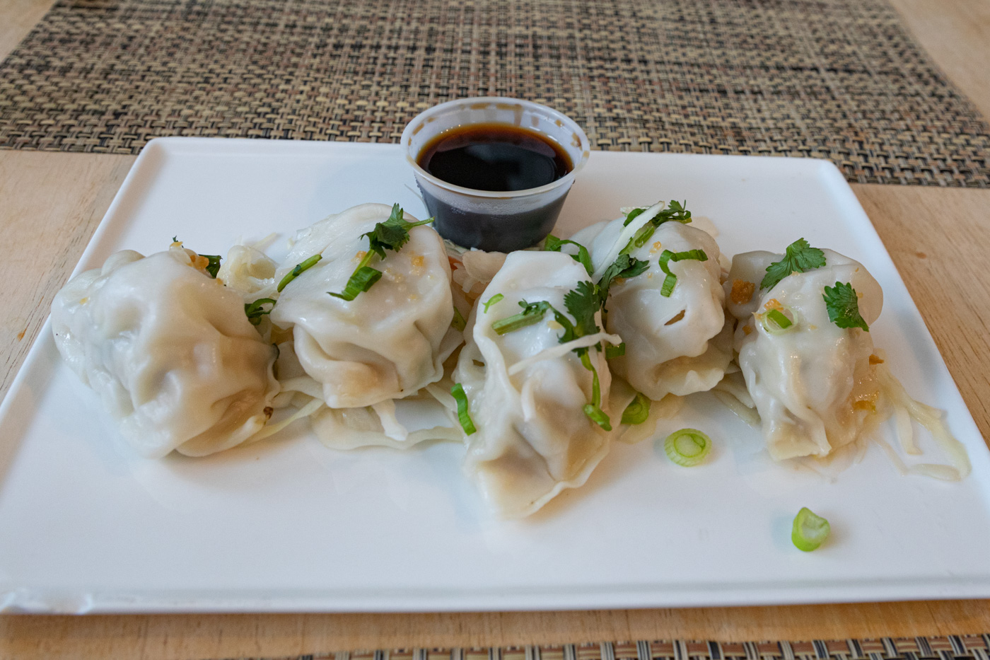 Dumplings from Sawatdee
