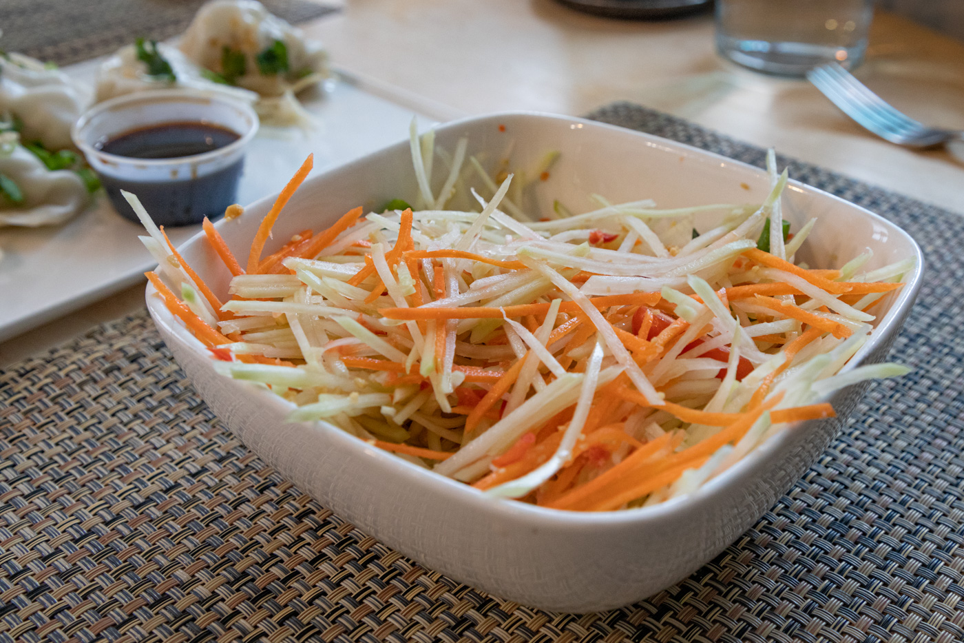 Som Tum Salad from Sawatdee