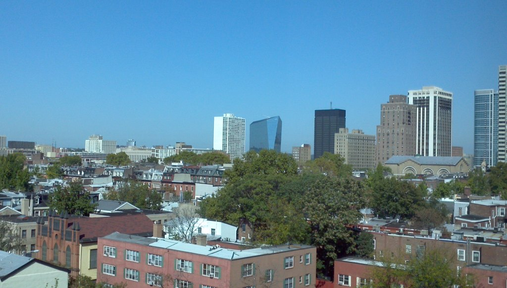Our View the Day We Moved in 2011