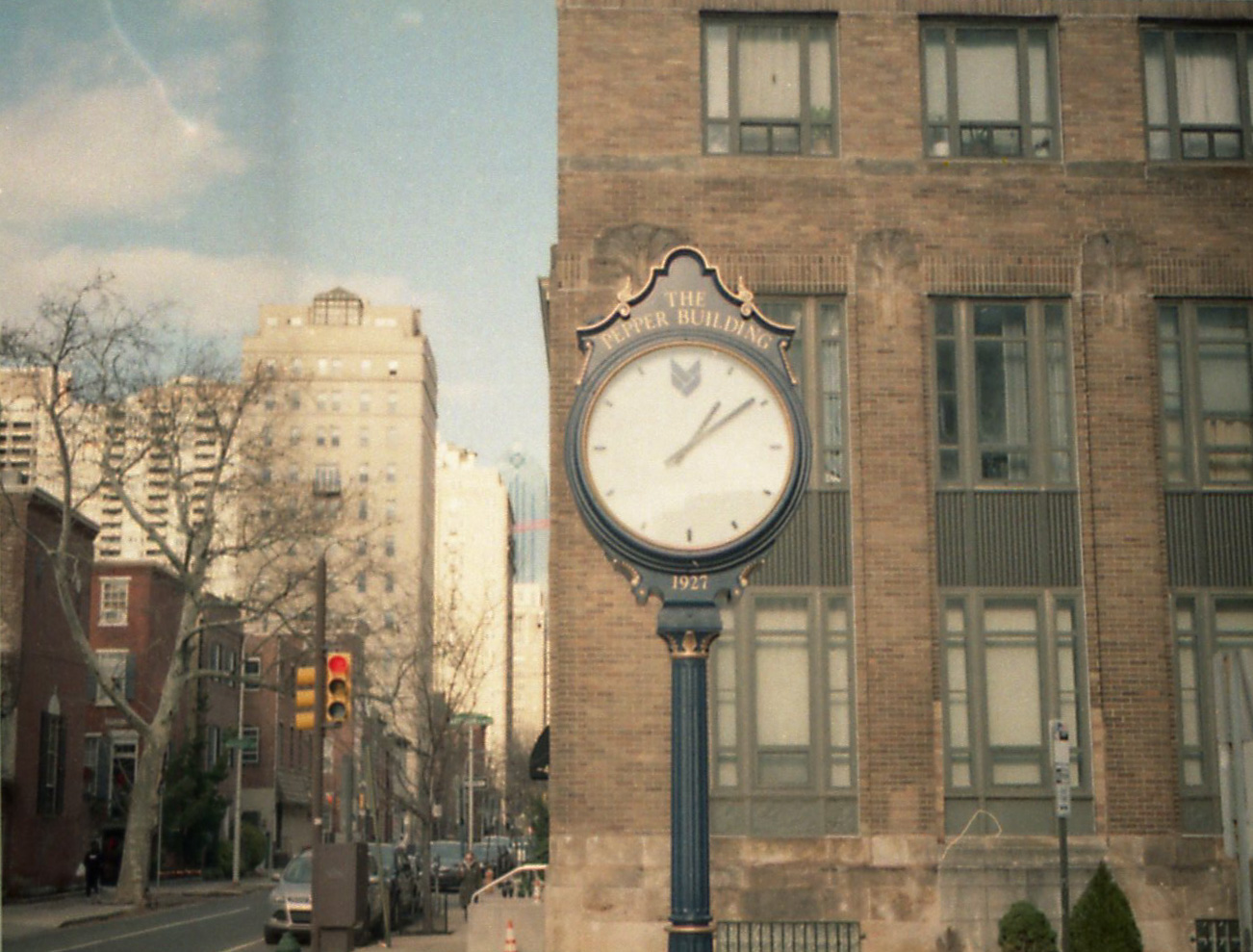 The Pepper Building Clock