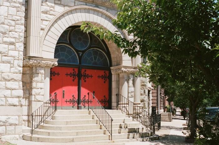 Red Doors at Sanctuary Lofts