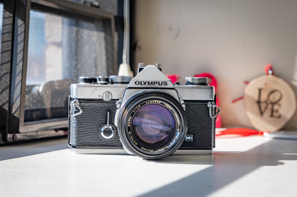 Olympus OM-1 with Olympus Zuiko 50mm f/1.4 Lens