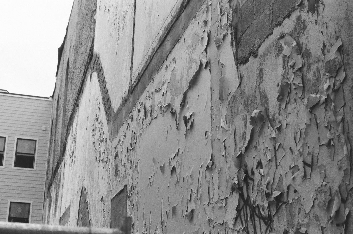 Deteriorating Wall