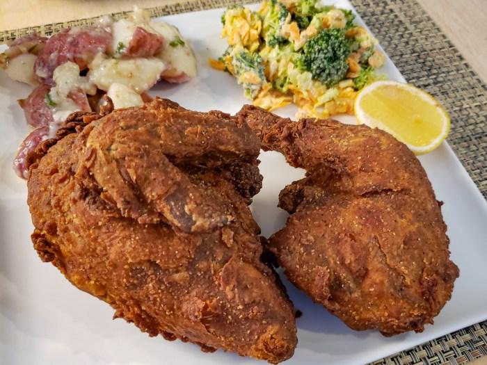 Fried Half Chicken from Rex 1516