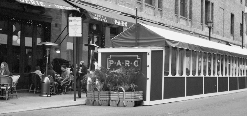 Outdoor Dining at Parc