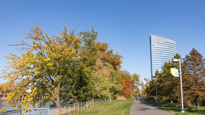 Autumn Walk along the Schuylkill Banks