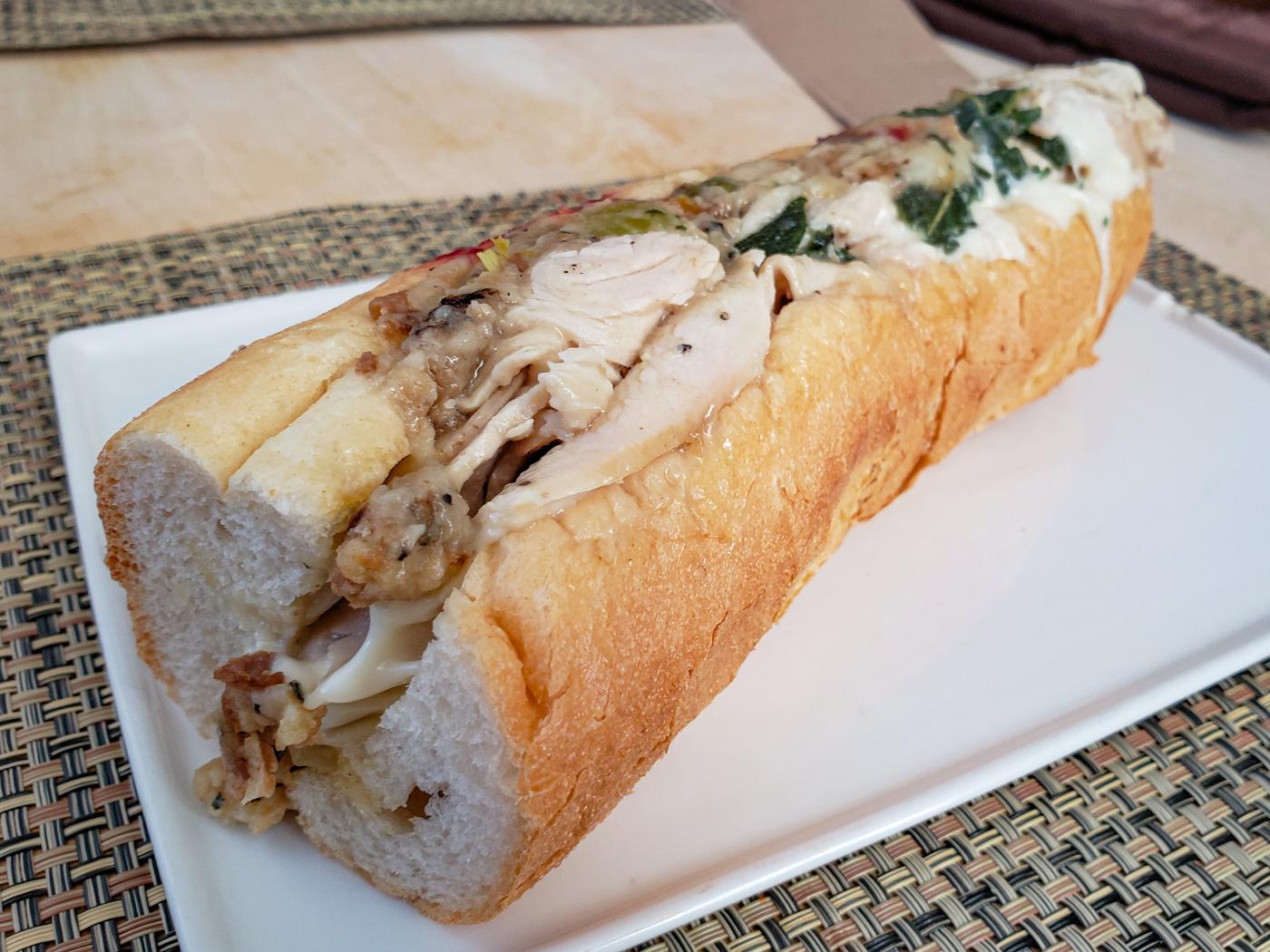 Hot Turk from Woodrow's Sandwich Shop