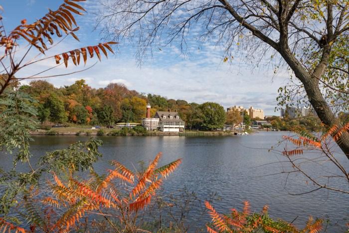 Boathouse Row in Autumn
